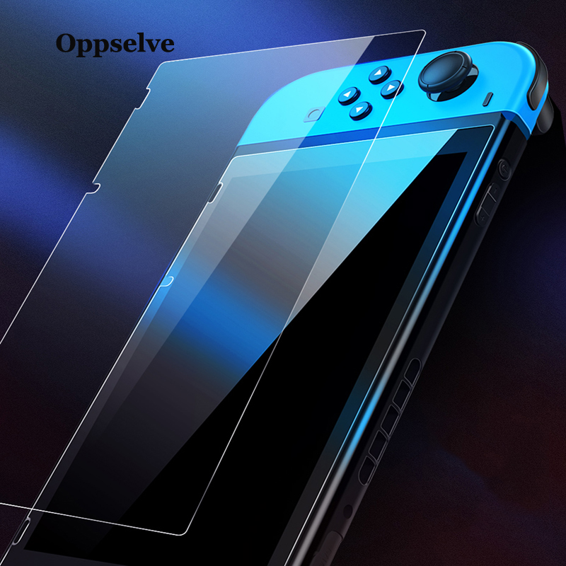 Oppselve Screen Protector For Nintend Switch 9H Tempered Glass for Nintendo Switch Ultra Slim HD Protective Film Nintendo Switch in Phone Screen Protectors from Cellphones Telecommunications
