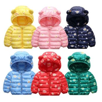 2020 Winter Warm Baby girl clothes Hooded coat Children Down Jackets For Girls Warm Kids Down Coats For Boys Outerwear Clothes thicken warm winter down jacket for girls hooded long teenage girl parka for girls 5 14 years kids outerwear coat children snows
