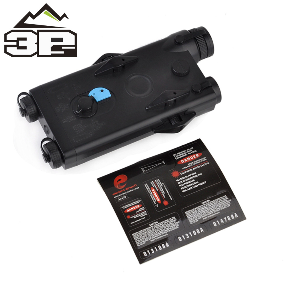 Battery-Case Rails Laser-Ver ANPEQ-2 20mm Tactical Softair No-Function Red for WEX426