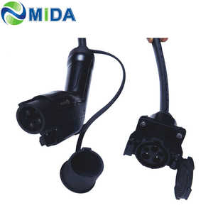 Image 5 - 5メートル32A J1772プラグソケット充電コネクタev充電器タイプ1ケーブル