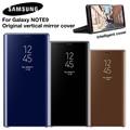 Оригинальный умный чехол Samsung Mirror Clear View для Samsung Galaxy Note 9 Note9 SM-N9600 SM-N960U SM-N960F