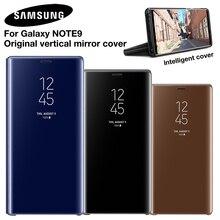 الأصلي سامسونج مرآة واضحة الرؤية الذكية غطاء لسامسونج غالاكسي ملاحظة 9 Note9 SM N9600 SM N960U SM N960F روس ضئيلة فليب حالة