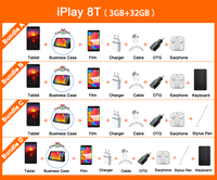 Alldocube iPlay 8T 8 inch Tablet 3GB RAM 32GB ROM 5500mAh Battery Android 10 Go WIFI 4G Phone Call LTE 2MP Camera Kids Tablet PC 2