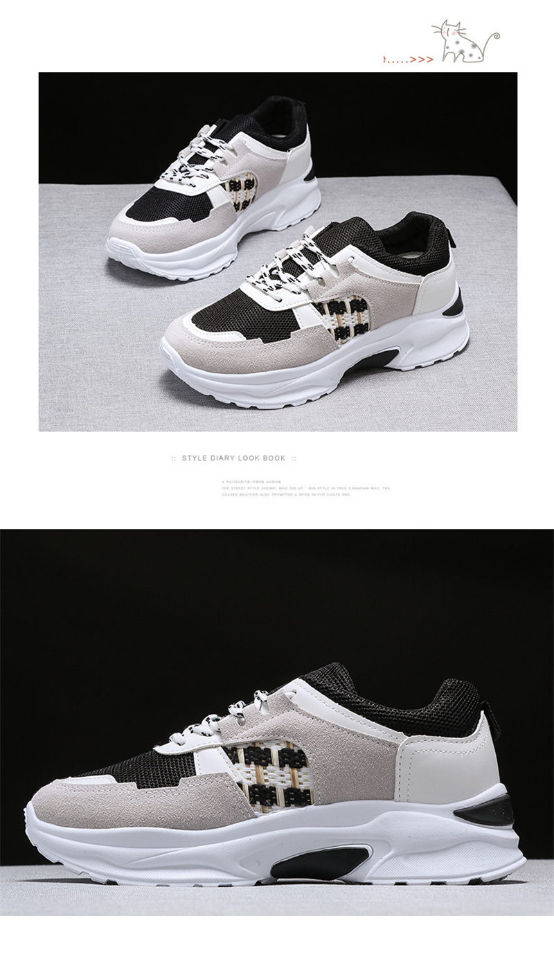 Spring Summer New Fashion Women's Vulcanize Shoes Casual Platform Increased Women Shoes Sneakers Casual Shoes Women VT611 (12)