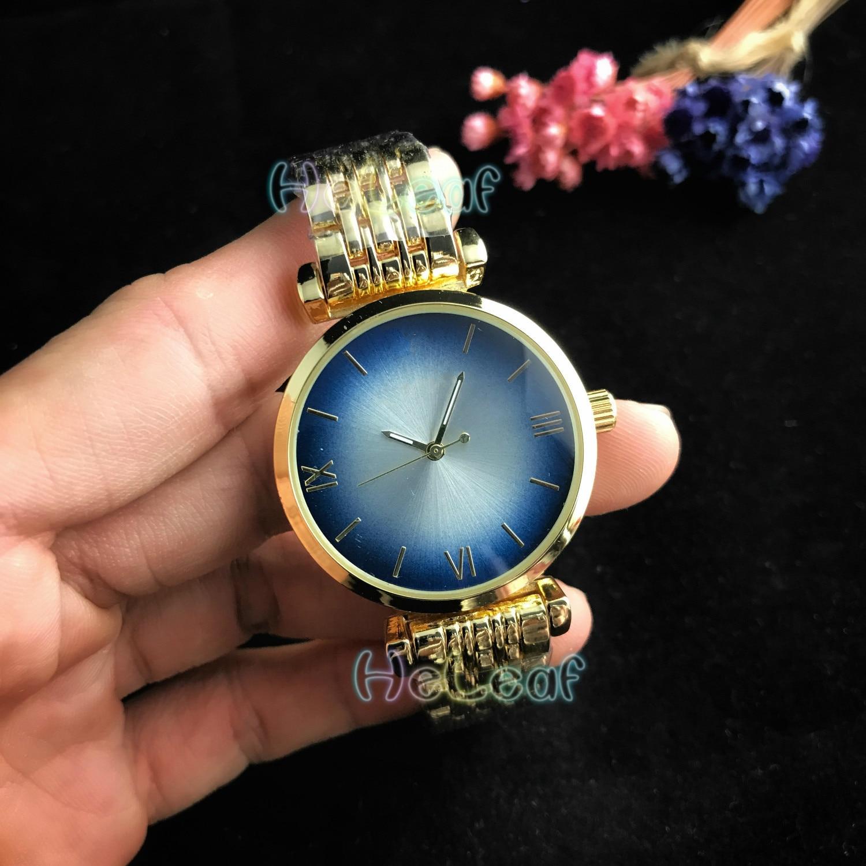 Luxury Fashion Women Watches Silver Gold Round Stainless Steel Band Quartz Watch MANI Female Black Clock MontreFemme Reloj Mujer