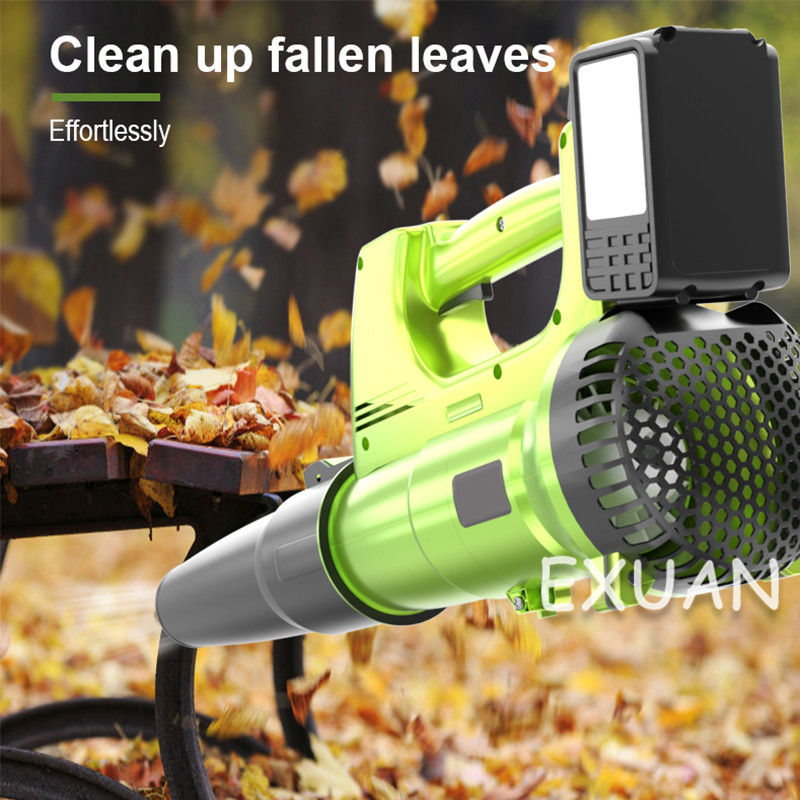 Industry Lithium High Battery Dust Rechargeable Soot Dust Blower Collector Blower Powerful Power Car Blowing Cleaning Leaf