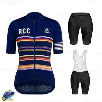 Ropa de ciclismo para mujer, Conjunto de Jersey de manga corta, Kit...