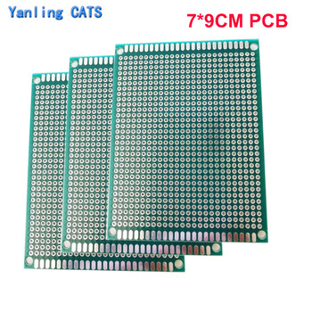Prototype PCB Diy Welding exercise board Universal Printed Circuit construction Board Double Side 7*9CM 3PCS nb 350i 500i secondary welding machine control board gas welding machine circuit board circuit board main board