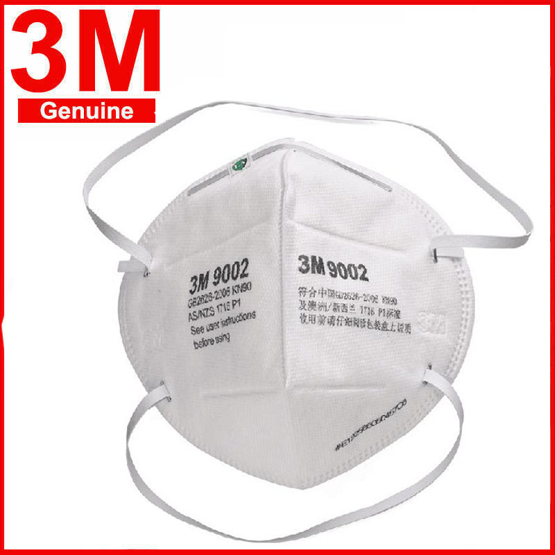 10pcs/Lot 3M 9001 9002 Dust Mask FFP1 KN90 Folding Dust Mask Anti-pm2.5 Respirator Anti-fog Masks Safety Mask  (2pcs Packed)