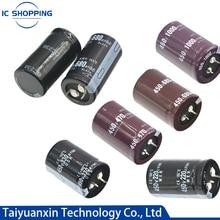 200V 250V 400V 450V condensador electrolítico de aluminio 47 68 82 100, 120, 150, 180, 220, 270, 330, 390, 470, 560, 680, 820, 1000, 2200, 3300UF