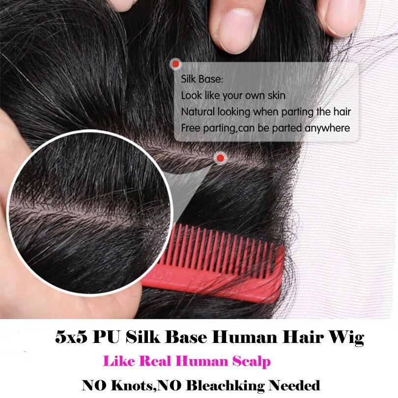 perucas de cabelo humano peruca frontal do 05