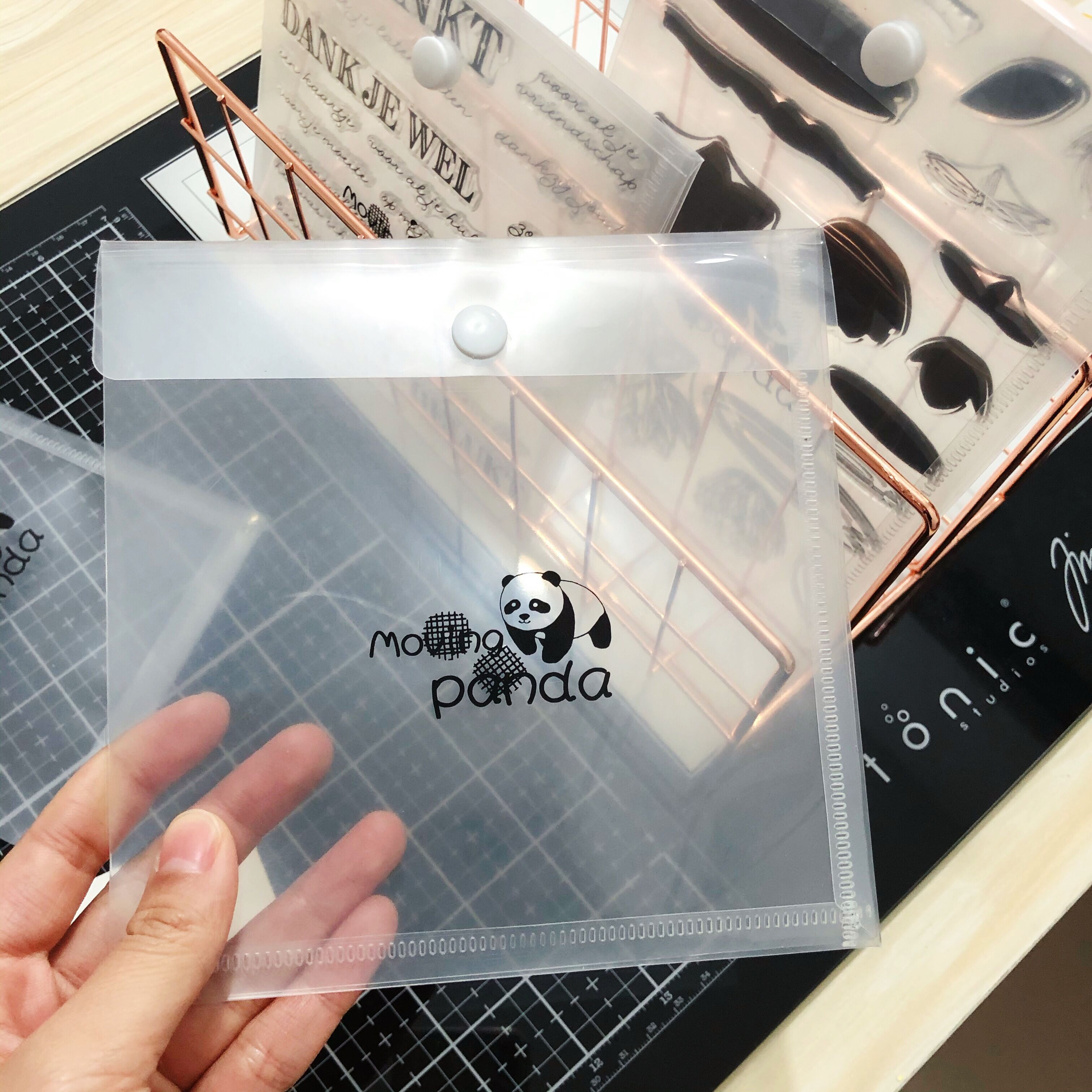 Only For Stamp Sets Purchasing Customers Metal Cutting Dies And Stamps Gathering Bag Storage Bags Resealable