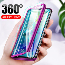 H&A Luxury 360 Full Cover Phone Case For Xiaomi Mi 9 8 SE Lite 9T Pro Max 2 3 A2 Anti-knock Phone Cover A2 Lite Case Fundas Capa(China)