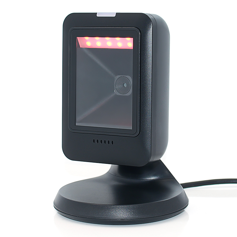 High quality handsfree Barcode Scanner MP6300 1D 2D QR PDF417 for supermarket store IOT