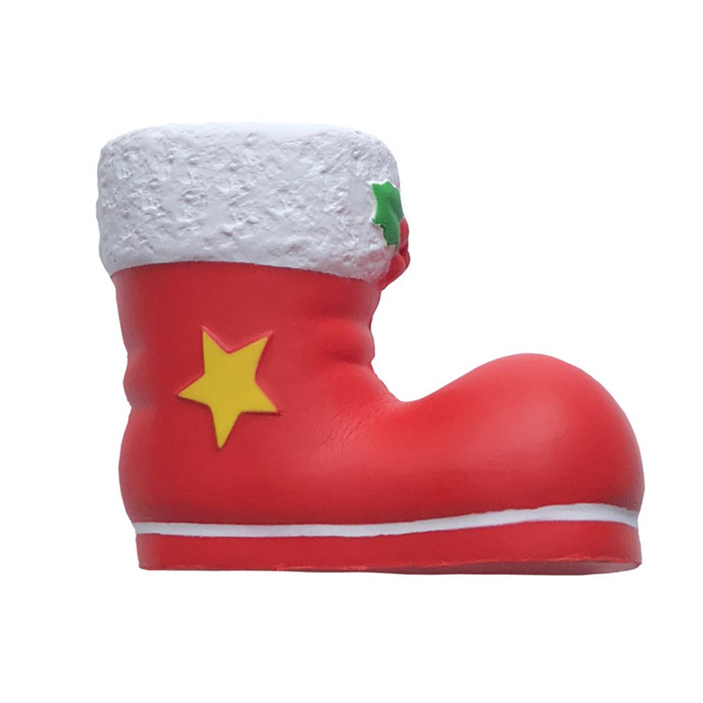 Soft Slow Rebound Bullhead Santa Claus And Snowman Christmas And Halloween Toy Rebound Simulation Model Pressure Release Toy