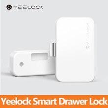 オリジナルyoupin yeelockスマート引き出しキャビネットロックbluetoothアプリ解除盗難防止子供の安全ファイルセキュリティ