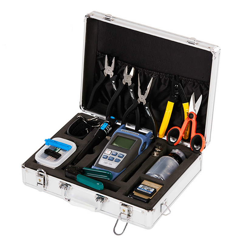 FTTH Cold Splicing Toolbox Toolkit Fiber Home Tool Kit FC-6S Fiber Cleaver