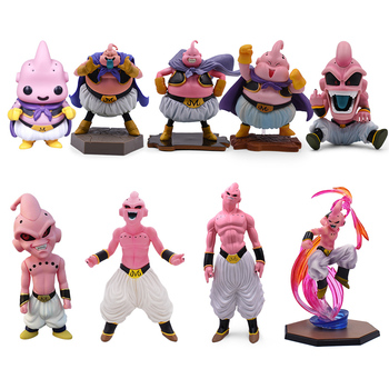 Anime Dragon Ball Z Majin Buu Boo PVC Action Figure Doll Collectible Model Toy Christmas Gift For Children 100% original bandai tamashii nations s h figuarts shf exclusive action figure majin vegeta from dragon ball z