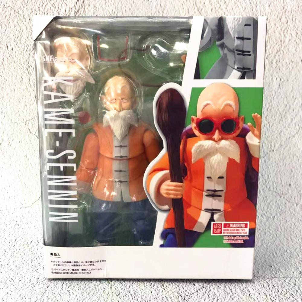 Dragon Ball Z Master Roshi PVC Action Figures Movable Anime Toy Dragon Ball Super Kame Sennin Figurine Toys 140mm