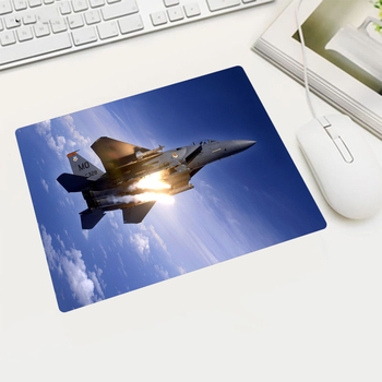 Various Aircraft Wallpaper Rubber Mouse Pad Russian Gamin Player Laptop Tablet Office Computer Mouse Pads Game image