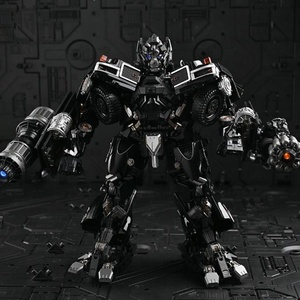 Image 2 - TransformationสีดำMamba BMB LS 09 LS09อาวุธIronhide KO Action Figureโลหะผสมโลหะภาพยนตร์Action Figureรูปของเล่น
