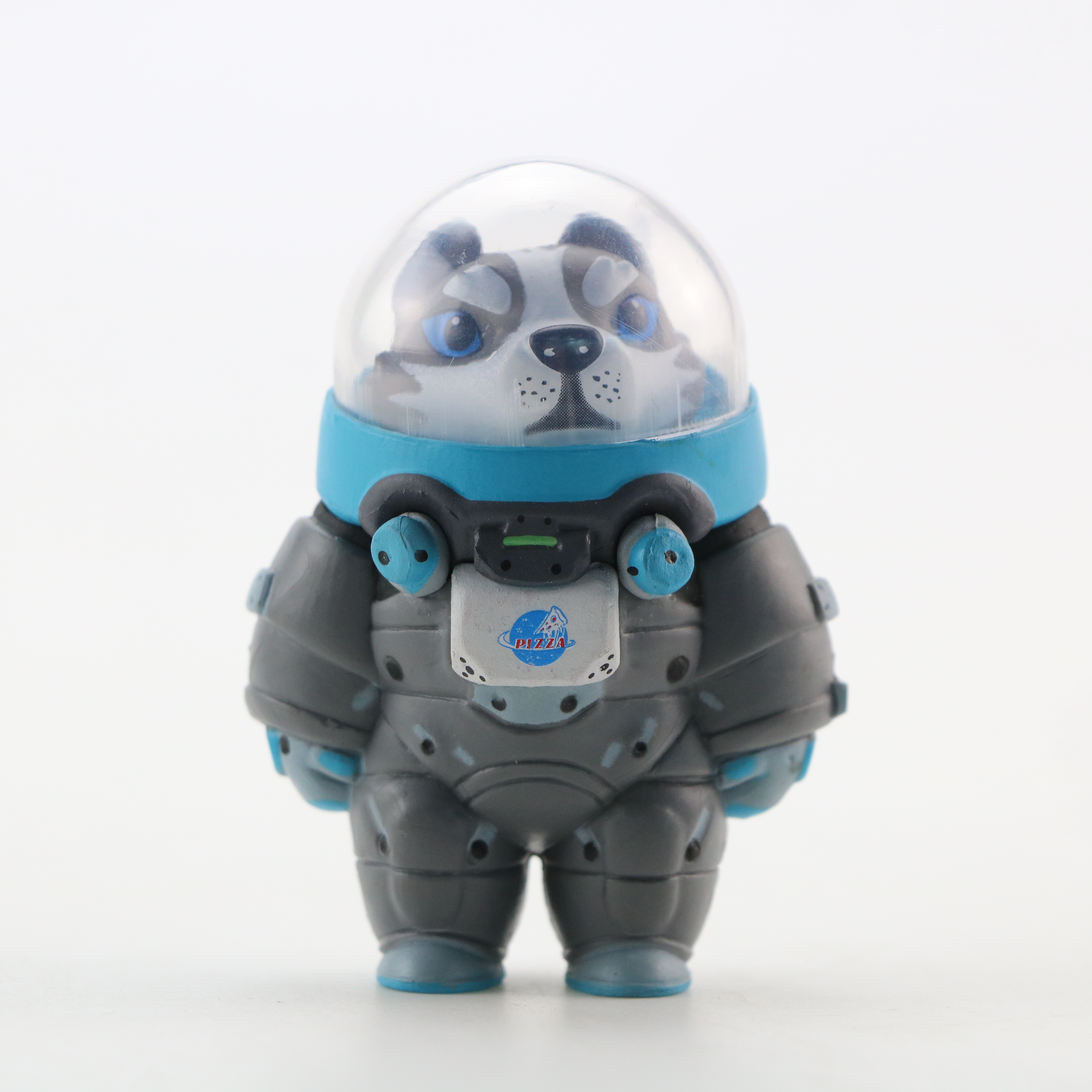 Image 3 - 10 pcs/set New Space Adventure Doll Blind Box Mini Animal Astronaut Figures Toys Set of 10 Action Figures Hand to Do OrnamentsAction & Toy Figures   -