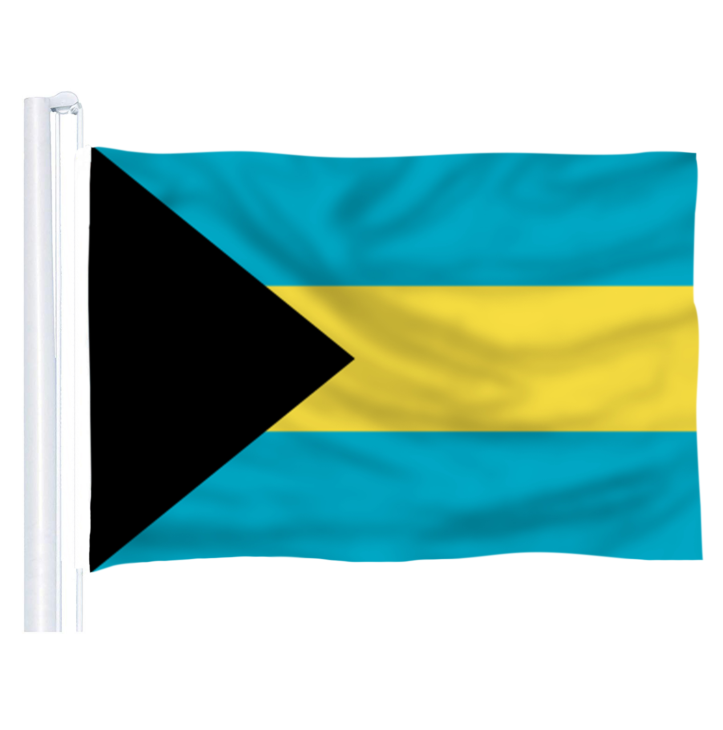 <font><b>2016</b></font> The Bahamas Flag Polyester Flag 5*3 FT 150*<font><b>90</b></font> CM High Quality image