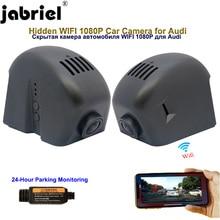 Jabriel ukryte 1080P Wifi wideorejestrator samochodowy kamera na deskę rozdzielczą samochodu dla audi a1 a3 a4 a5 a6 a7 a8 q3 a5 q7 tt rs3 rs4 rs5 rs6 rs7 s8 2002 2019