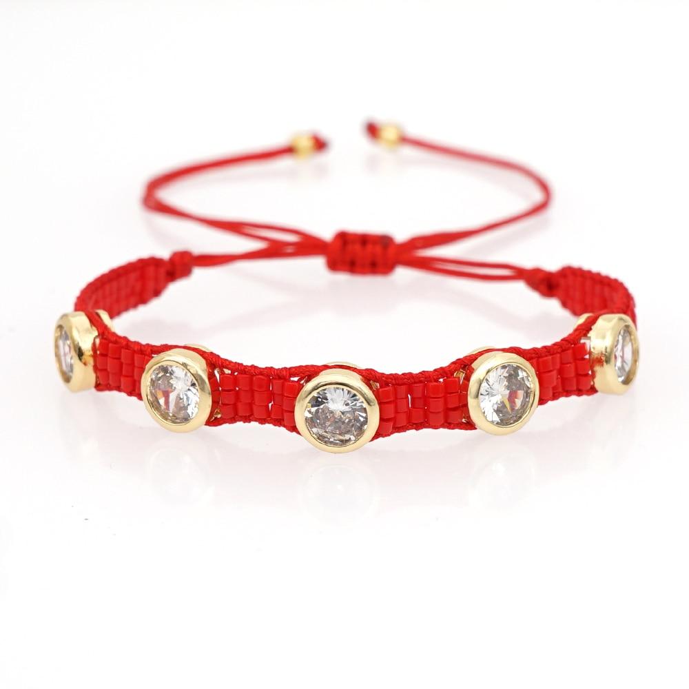 Go2boho Mexico Bracelet Miyuki Bracelets For Women Crystal Beads Pulseras Mujer Moda 2020 Jewelry Armband Gifts Dropshipping