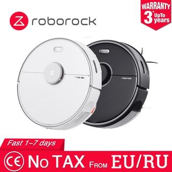 Roborock S5 MAX Robot aspirateur Version internationale pour la maison balayage automatique poussière stériliser APP intelligent planifié vadrouille de lavage