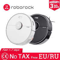 Roborock S5 MAX Robot Vacuum Cleaner International Version for Home Automatic Sweeping Dust Sterilize APP Smart Planned Wash Mop