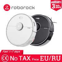 Robot aspirador Roborock S5 MAX versión internacional para el hogar, barrido automático, esterilización de polvo, APP Smart Planned Wash Mop