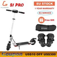 [Europe STOCK] KUGOO S1 PRO Folding Adult Electric Scooter 7.5AH 350W 30KM/H XIAOMI M365 e Scooter PK Ninebot
