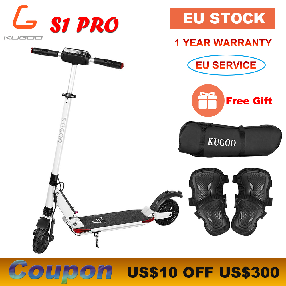 [STOCK Europe] KUGOO S1 PRO Scooter électrique adulte pliant 7.5AH 350W 30 km/h XIAOMI M365 e Scooter PK Ninebot