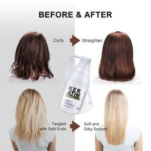 Image 4 - Восстановление волос с чистым кератином, формалин 5%, профессиональный выпрямитель для вьющихся волос, наращивание волос, блестящий цвет