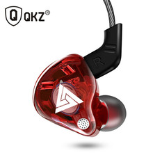 QKZ AK6 In Ear Earphones Copper Driver HiFi Sport Earphones for Running With Microphone Headset musi