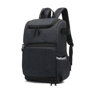 Image 1 - Mochila multifuncional à prova d água, bolsa para câmera, mochila portátil, grande capacidade, para fotografia externa