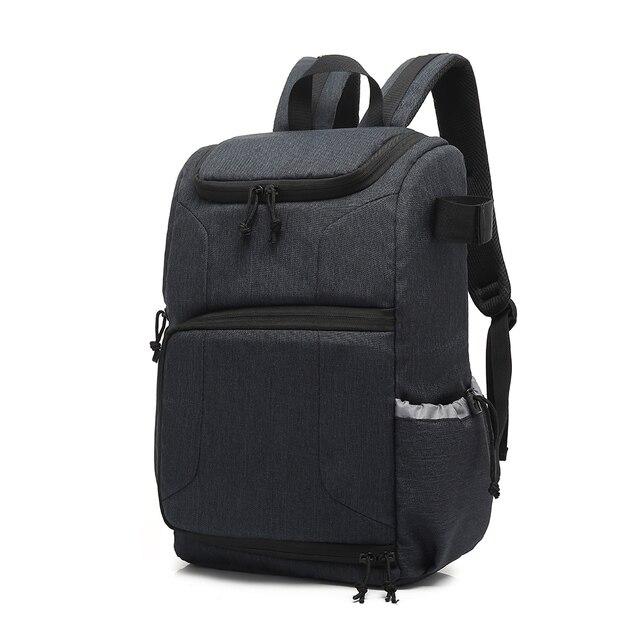 Mochila multifuncional à prova d água, bolsa para câmera, mochila portátil, grande capacidade, para fotografia externa