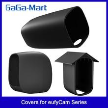 Protective-Covers Camera Eufycam Silicone for Eufy-2c/Eufy-2/Eufy-e/.. Giving 2pcs