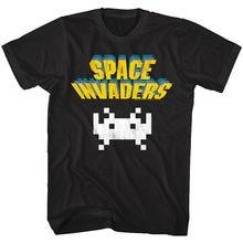 Los invasores espaciales Vintage alienígena Logo T camisa Taito juego de Arcade Hola puntuación