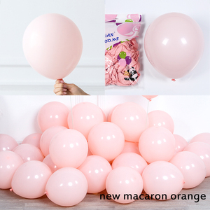 """Image 5 - 130pcs Macaron Balloon Arch Garland 10"""" 36"""" Gray Yellow Balloon With Artificial Leaf For Wedding Birthday Event Party Decoration"""