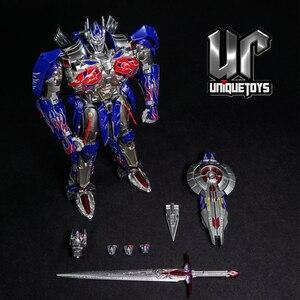 Image 4 - Figuras de acción de Transformaton UT R 02, juguetes únicos, R 02B R02 R 02V, Comandante OP, obra maestra, MPM Knight Warrior, modelo de Robot, Juguetes