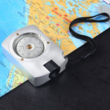 Hiking Compass Calculator Measurer Multi-Functional Hand-Held Survival Professional Camping