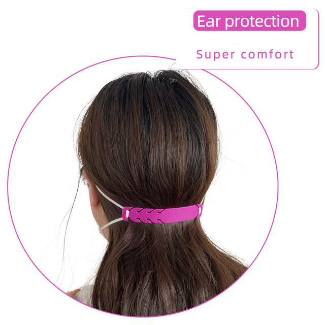 Adjustable Anti-slip Mask Ear Grips High Quality Extension Hook Face Masks Buckle Holder Mask Accessories 5