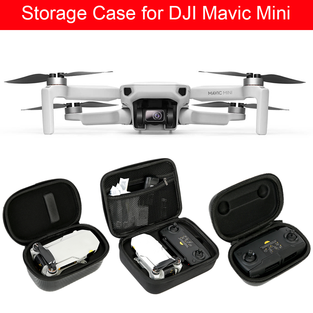 Portable Carrying Case for DJI Mavic Mini Drone Waterproof Storage Bag for Mavic Mini Remote Controller Protective Box Wholesale|Camera Drones| - AliExpress