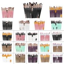 цена на 20 Pcs Makeup Brushes Eye Shadow Brush Foundation Brush Eyebrow Brush Lip Brush Makeup Brush Set Beauty Makeup Tools