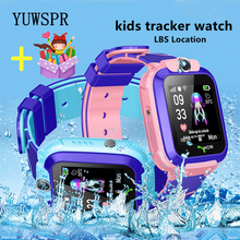 Children Tracker Smart Watch LBS Location Multifunction Wristwatch Camera Waterproof IOS Android Phone Kids Smart Clock Gift Q12