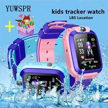 Kinderen Tracker Smart Horloge Lbs Locatie Multifunctionele Horloge Camera Waterdicht Ios Android Telefoon Kids Smart Klok Gift Q12