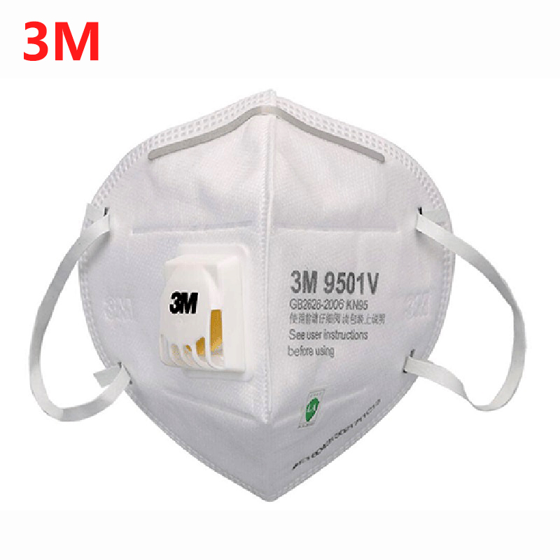 Reusable Mouth Mask - Valved Face Mask Men Protection Face Mask Mouth Cover Pm2.5 Dust Masks 6 Layers Filter