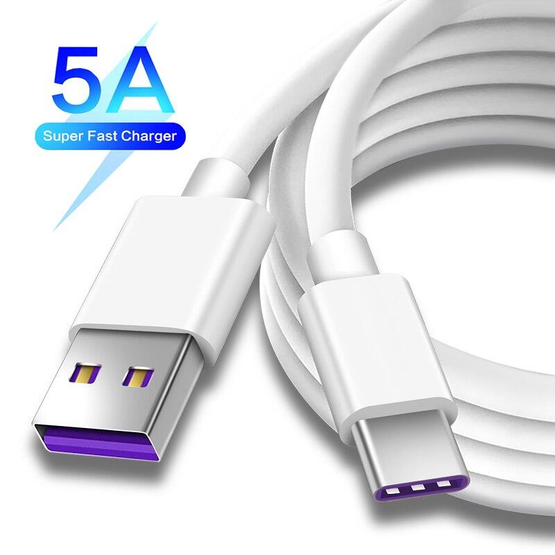 Huawei для USB 5А Type C кабель Huawei P30 P20 Pro lite Mate20 10 Pro P10 Plus lite USB Type-C оригинальный Супер зарядный кабель